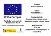 Placa subvención Europea - Almansa